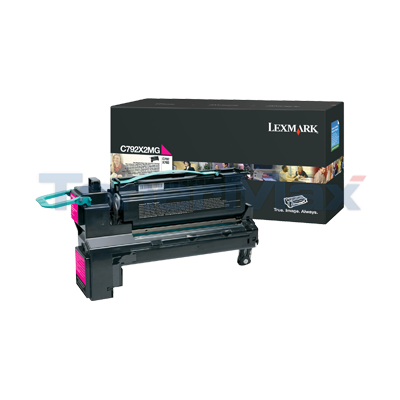 LEXMARK C792 PRINT CART MAGENTA 20K
